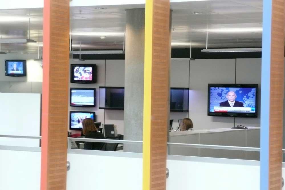 BBC World Reception Video Wall