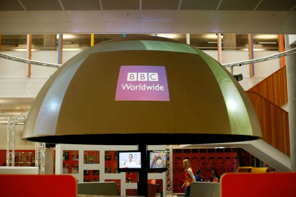 BBC Worldwide Entertainment Projection AV Unit