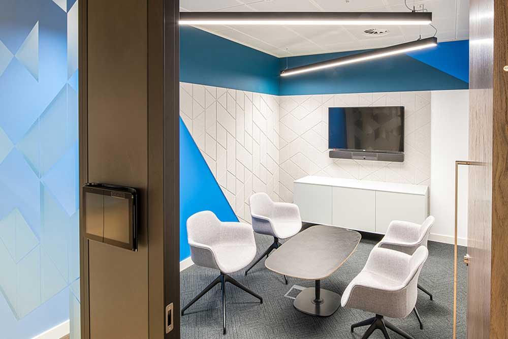 Network Homes meeting room AV