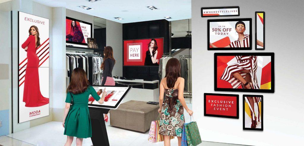 retail and hospitality AV