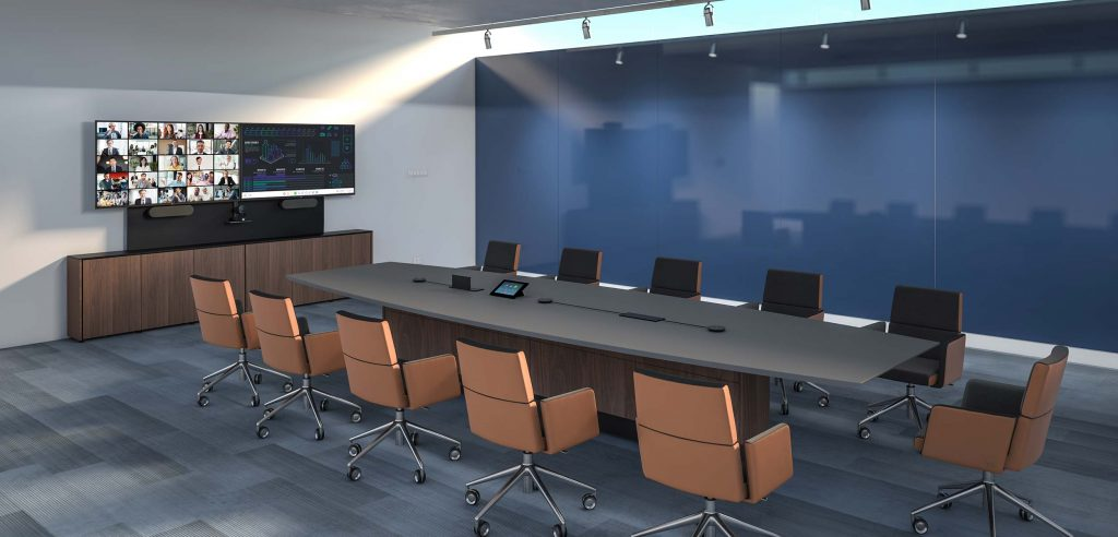 zoom logitech meeting room
