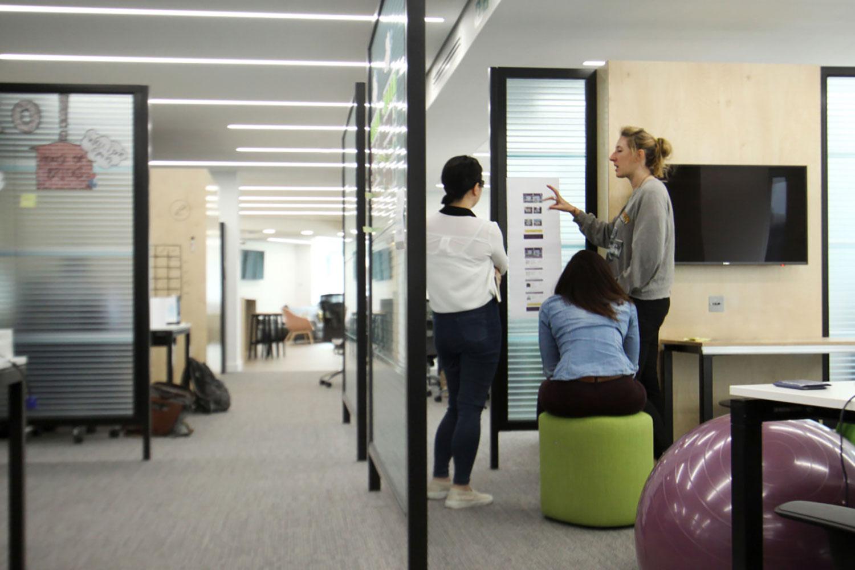 Whitbread London Digital Screens