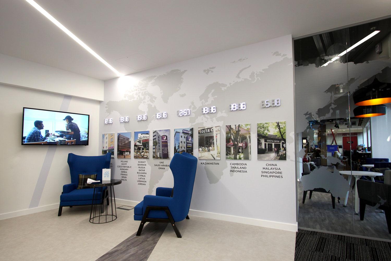 Whitbread Dunstable Meeting Room HD Screens
