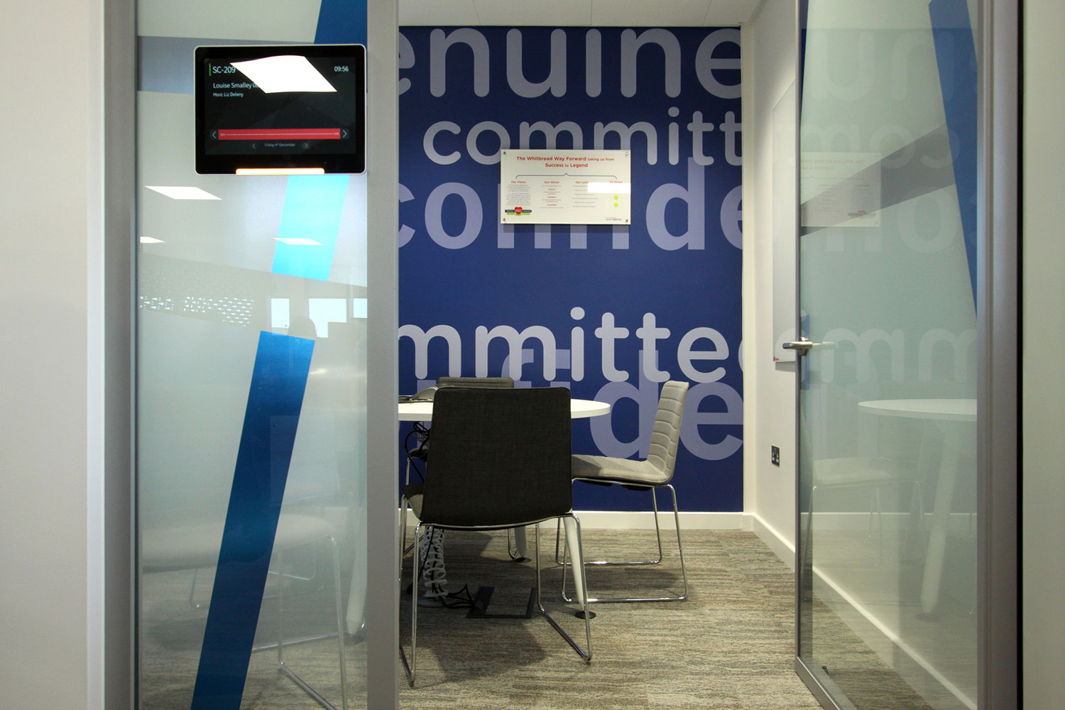 Whitbread Dunstable Meeting Room Booking System