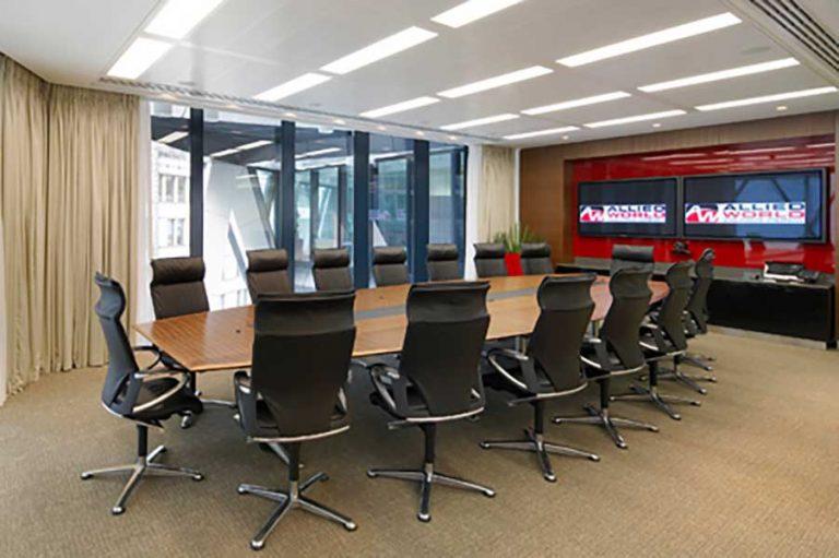 Allied World boardroom AV
