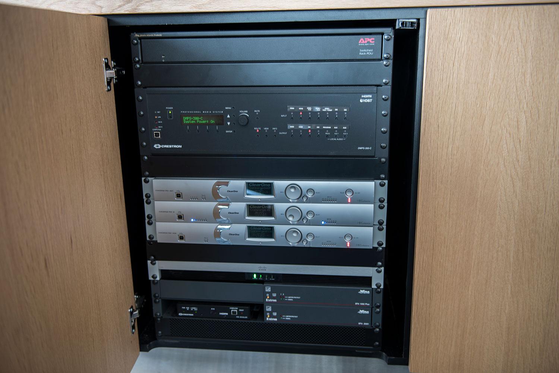 lancashire crestron control box