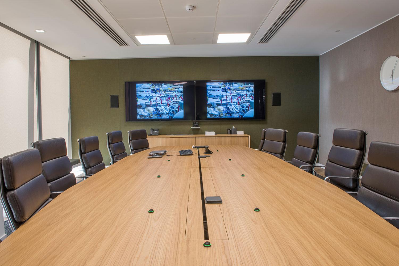 lancashire boardroom AV solution