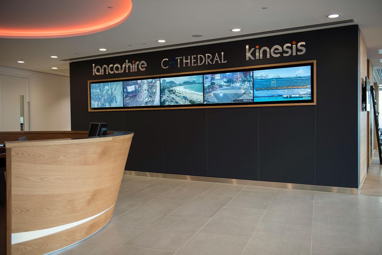 lancashire reception rolling news screens london