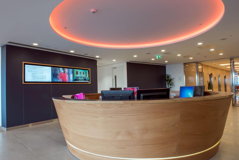 lancashire reception rolling HD displays london