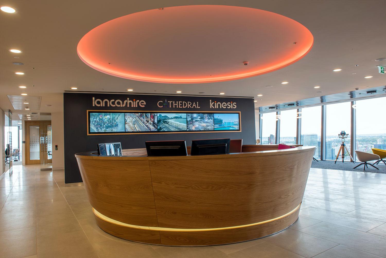 lancashire reception display signage london