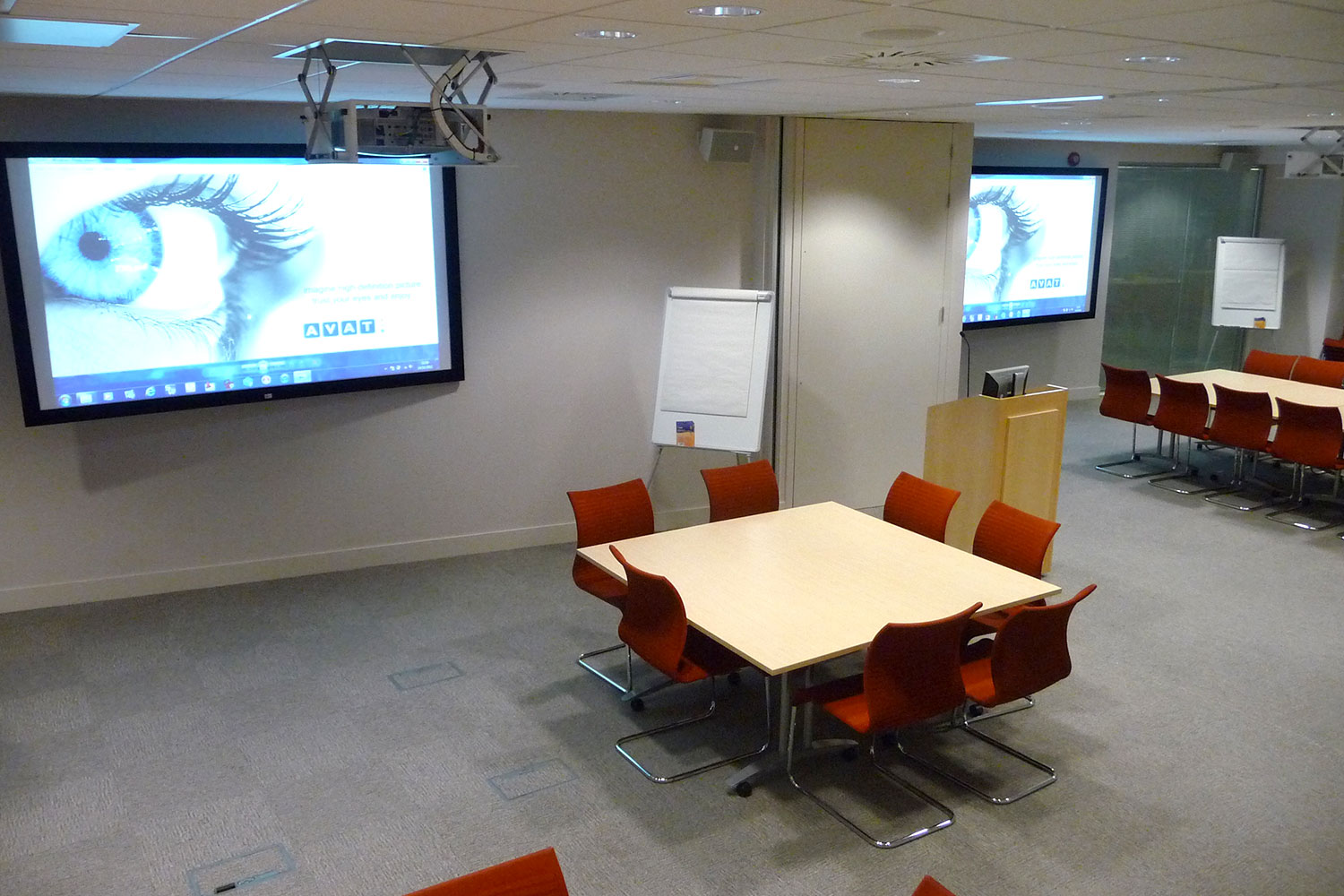 tui training room AV