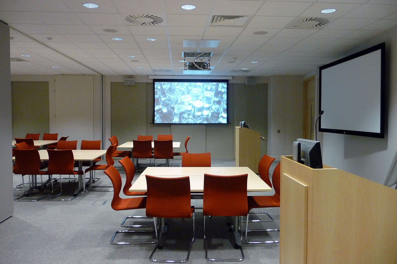 tui training room projectors